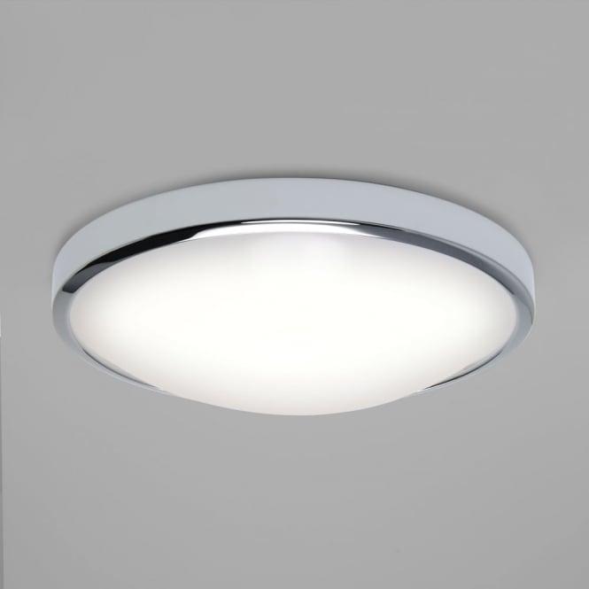 Osaka chrome led bathroom ceiling light