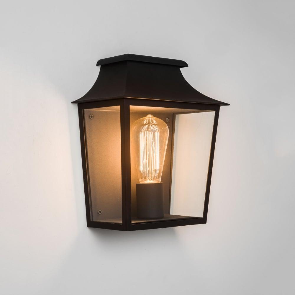 Astro Lighting 7270 Richmond Ip44 Exterior Wall Lantern Light In Black