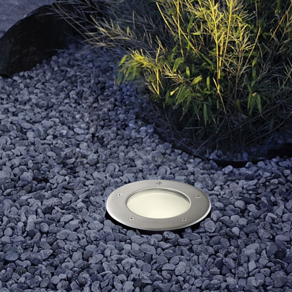 in ground lighting. Riga 3 Exterior Round Ground Recessed Uplighter In Ground Lighting R