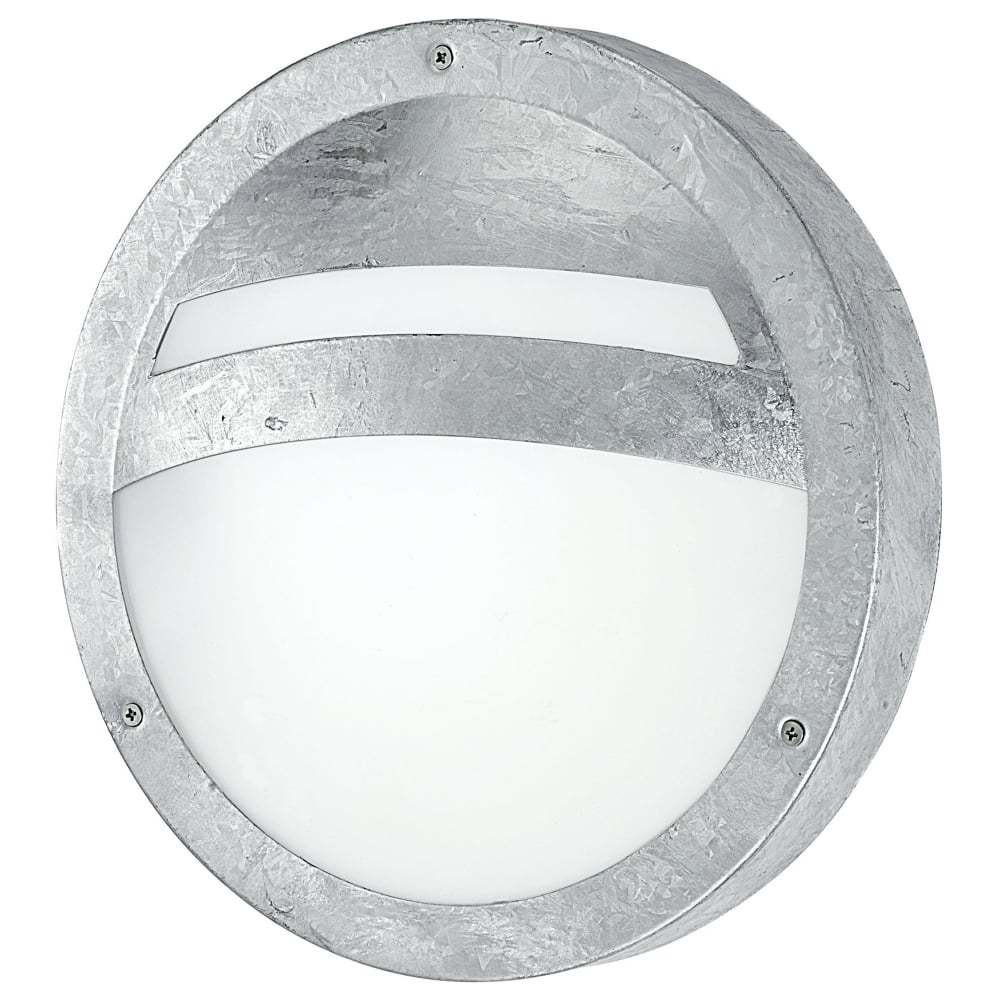 galvanized lighting. Sevilla Outdoor IP44 Galvanized Steel Round Wall Light Galvanized Lighting